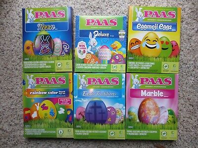 PAAS COLOR Cups Easter Egg Coloring Kit - $4.20 | PicClick