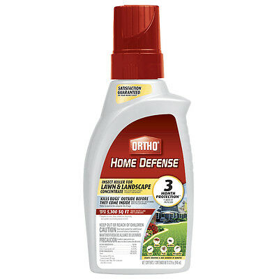 Ortho 0174810 Home Defense Insect Killer for Lawn/Landscape Concentrate, 32