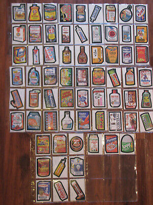 1979 Topps Wacky Packages Series 1 Set - 66 cards