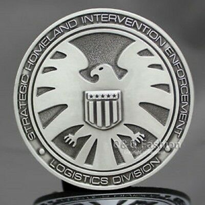Marvel Comics Agents of SHIELD S.H.I.E.L.D Logo BELT BUCKLE Collectible Avengers