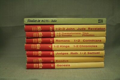 LOT BIBLE STUDY books The Layman's Bible Commentary Genesis Exodus Judges  Ruth &