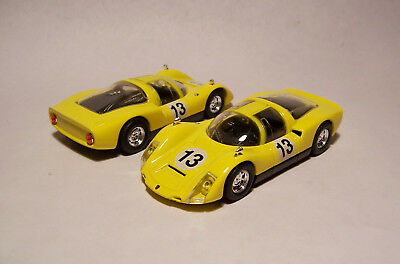 Porsche 906 Carrera 6 - Coupe - gelb / schwarz - # 13 - 1965 - HighSpeed - 1:43
