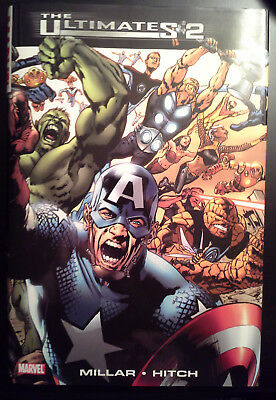 ULTIMATES 2 HC/Hardcover by Mark Millar and Bryan Hitch - MARVEL COMICS