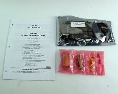 Racal 1260-116 VXI Switching Card Kit 24 SPDT 5A Relay Plug-In