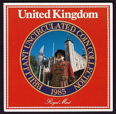 1985 UK Brilliant Uncirculated Coin Collection