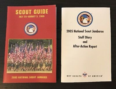 2005 National Scout Jamboree Scout Guide & Staff Diary - NEW