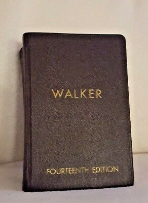Walker's Building Estimator's Reference Book~14th Edition 1957~Construction
