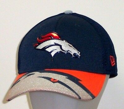 8da1aaf0c917ff Denver Broncos New Era NFL Draft On Stage 39Thirty Flex Hat / Cap size S/