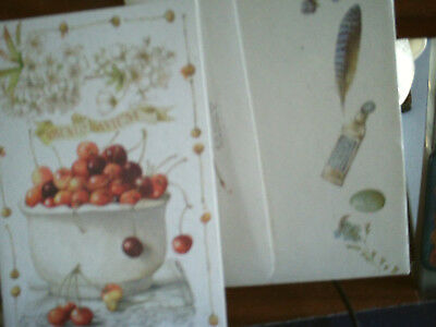 "1994 Marjolein Bastin Hallmark Greeting Cards ""Prunus Avium"" with Envelope"