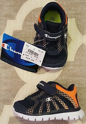 efa12bf7ad9ed8 CHAMPION Gusto Baby Infant Boys Shoes ATHLETIC Sneakers 2 3 MONTHS 3M Size  1 NEW