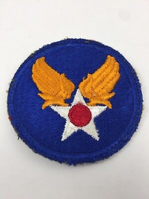 US Army Air Force patch WWII Air Corps Gold Wings Silver star Hap Arnold ww2