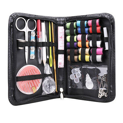 38pcs Full Set Thread Needle Tape Measure Scissor Sewing Kit For Home Travel