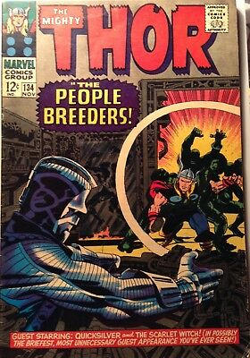 The Mighty Thor Silver Age 1966 Issue 134
