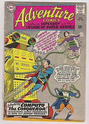 Adventure Comics #340 - Superboy & The Legion of Super-Heroes, Very Good - Fine!