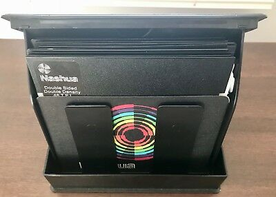 """10 Commodore 64 5.25"""" Floppy Disks In Hard Casing"""