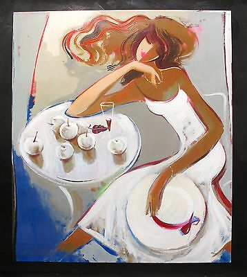 "IRENE SHERI ""SUMMER DREAMS"" Hand Signed Limited Edition Giclee Art on Canvas"