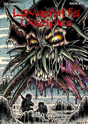 255 LOVECRAFT'S DISCIPLES #29 Rainfall chapbook. H. P. Lovecraft/Cthulhu Mythos