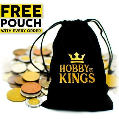 Lot Of 50 Different (1/3 Pound) Foreign World Coins Collection