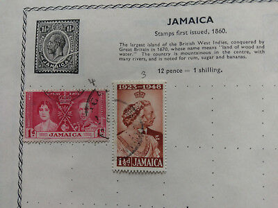 23  WEST INDIES STAMPS 1898-1940s