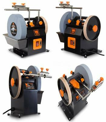 """WEN 4270 10"""" 2 Direction Water Cooled Wet/Dry Sharpening System Stropping Wheel"""