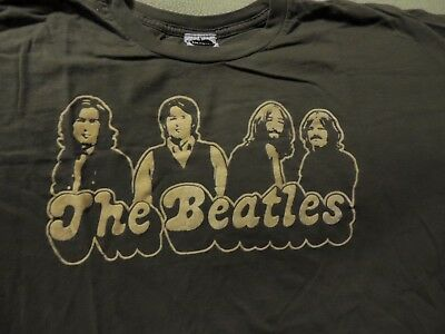 Vintage Looking The Beatles Group Photo T-Shirt Adult XL Near Mint Very Nice