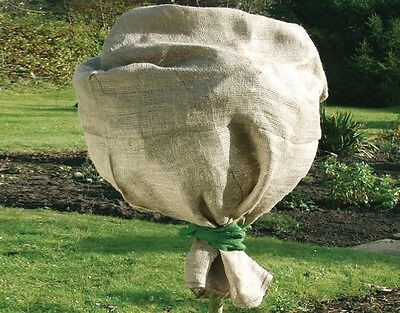 Jute Protection Bag 141351 Natural 60 x 80 CM Winter Protection Plant Protection