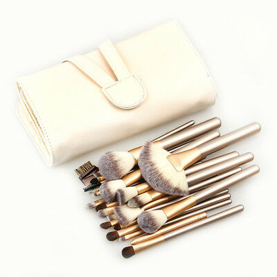 12/24Professional Make up Brushes Set Cosmetic Tool Kabuki Makeup Kit Foundation
