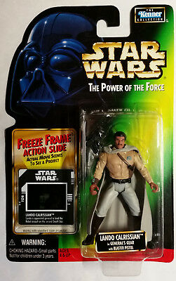 Kenner Star Wars Figur - LANDO CALRISSIAN - The Power of Force OVP & NEU
