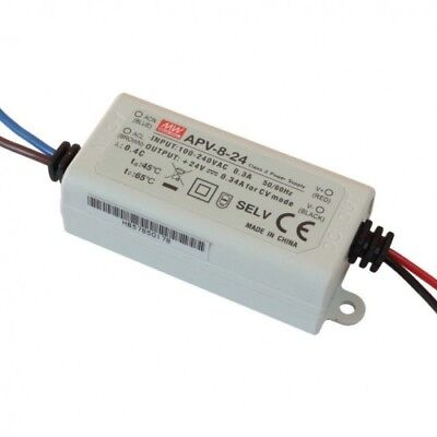 Meanwell APV-8-24 0-8W LED DRIVER / power supply 24V DC