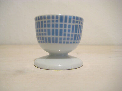 Eierbecher Arzberg Bastdekor blau Form 1382 50er 60er Jahre Egg Holder