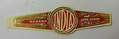 """For Sale: OLD COLLECTIBLE CIGAR BAND, """"HM COMMERCIAL (#1)"""", B14"""