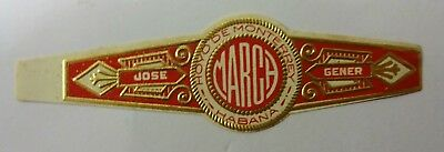"""For Sale: OLD COLLECTIBLE CIGAR BAND, """"HM COMMERCIAL (#2)"""", B14"""