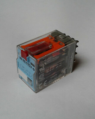 40 X Releco C9-A41 Relays,14 Blade 4PDT, 115V AC Coil, Ice Cube Plus, RS 376-464