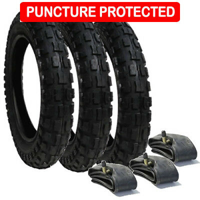 Phil & Teds DASH Puncture Protected CHUNKY Tyre Set  FREE 1ST CLASS