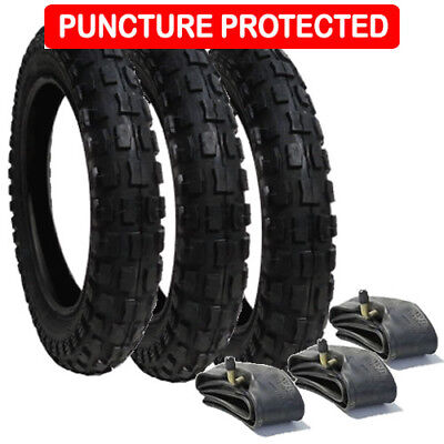 Phil & Teds E3 Puncture Protected Heavy Duty Tyre Set  FREE 1ST CLASS