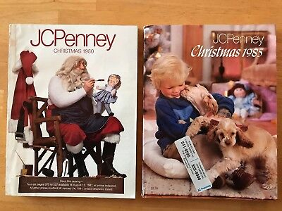 JC Penney Christmas Catalogs 1980 1985