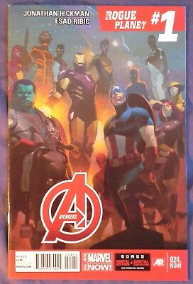 AVENGERS (2012/Vol 5) #24 by Jonathan Hickman & Esad Ribic - ALL-NEW MARVEL NOW!