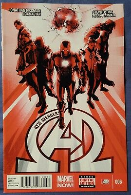 NEW AVENGERS (2013/Vol 3) #6 by Jonathan Hickman & Steve Epting - MARVEL COMICS