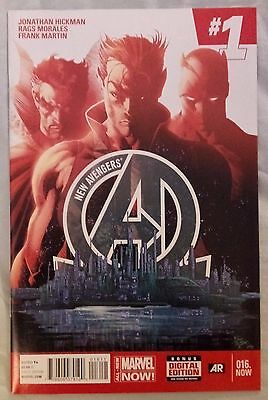 NEW AVENGERS (2013/Vol 3) #16 by Jonathan Hickman & Rags Morales - MARVEL NOW!