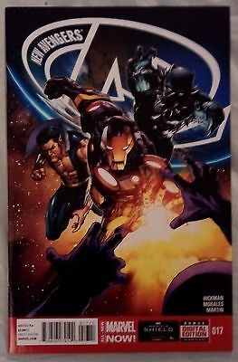 NEW AVENGERS (2013/Vol 3) #17 by Jonathan Hickman & Rags Morales - MARVEL NOW!