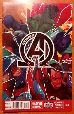 NEW AVENGERS (2013/Vol 3) #23 by Jonathan Hickman & Kev Walker - MARVEL NOW!
