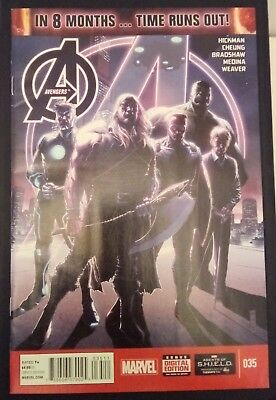 AVENGERS (2012/Vol 5) #35 by Hickman, Cheung, & more: TIME RUNS OUT - MARVEL