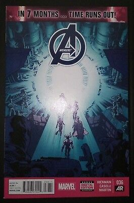 AVENGERS (2012/Vol 5) #36 by Hickman & Caselli: TIME RUNS OUT - MARVEL COMICS