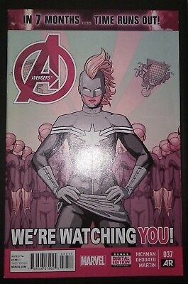 AVENGERS (2012/Vol 5) #37 by Hickman & Deodato: TIME RUNS OUT - MARVEL COMICS