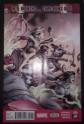 AVENGERS (2012/Vol 5) #39 by Hickman & Deodato: TIME RUNS OUT - MARVEL COMICS