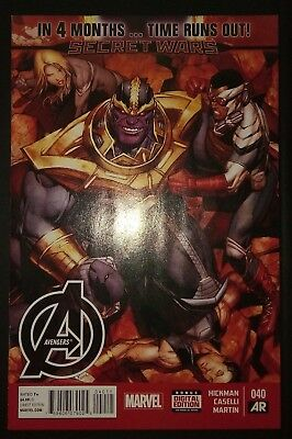 AVENGERS (2012/Vol 5) #40 by Hickman & Caselli: TIME RUNS OUT - MARVEL COMICS