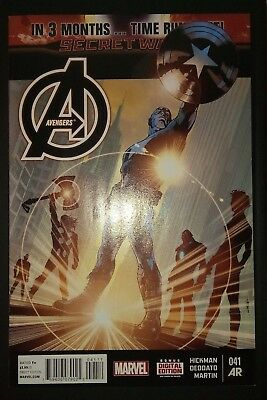 AVENGERS (2012/Vol 5) #41 by Hickman & Deodato: TIME RUNS OUT - MARVEL COMICS