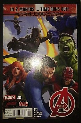 AVENGERS (2012/Vol 5) #43 by Hickman & Mayhew: TIME RUNS OUT - MARVEL COMICS