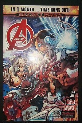 AVENGERS (2012/Vol 5) #44 by Hickman & Caselli: TIME RUNS OUT - MARVEL COMICS
