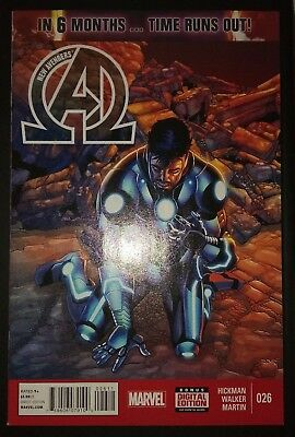 NEW AVENGERS (2013/Vol 3) #26 by Hickman & Walker: TIME RUNS OUT - MARVEL
